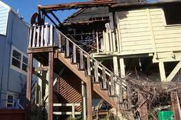 A home destroyed by fire in San Francisco's Bernal Heights neighborhood is on the market for $799,000. The 600-square foot house at  121 Gates  was gutted by the blaze in 2016.