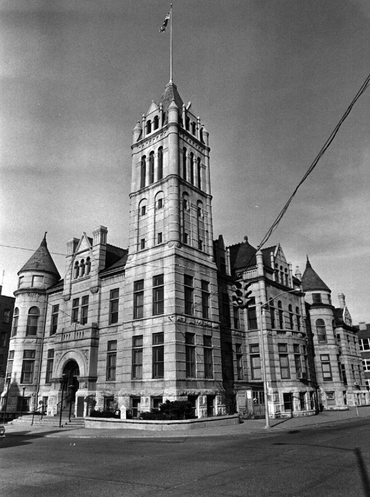 City Hall in Cohoes in years gone by.