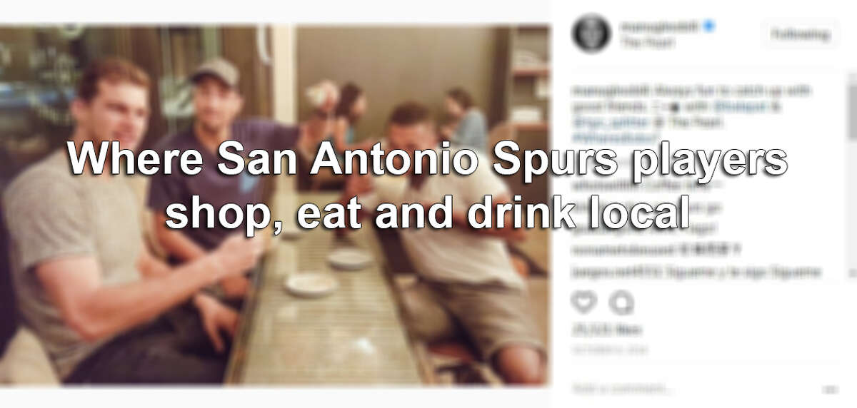 Click ahead to find out where Spurs players have been spotted hanging out around San Antonio.