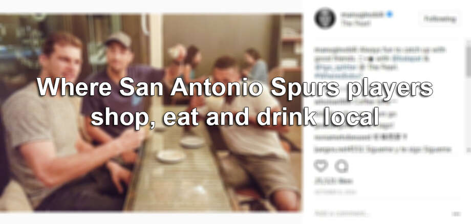 Click ahead to find out where Spurs players have been spotted hanging out around San Antonio. Photo: Screengrab Via Instagram