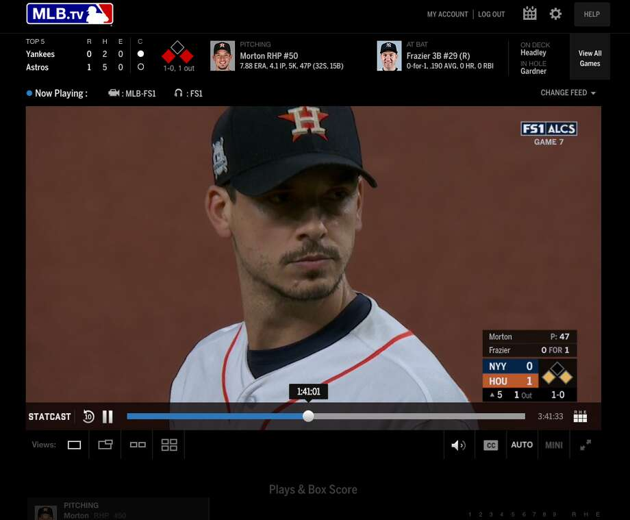 MLB.tv is Major League Baseball's own streaming service. Photo: MLB.com