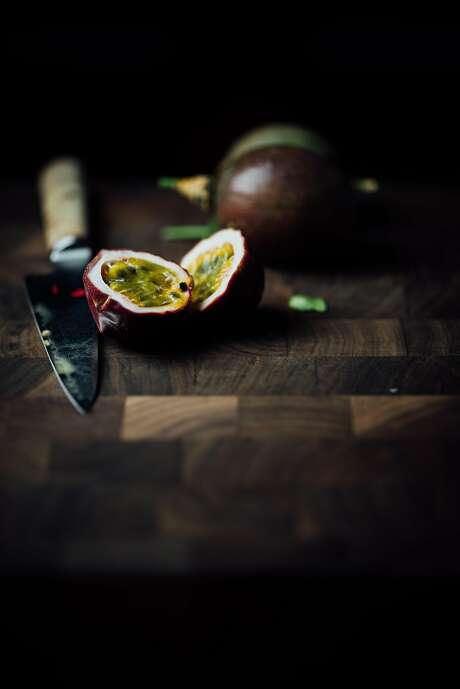 Passion fruit for a passion fruit lassi. Photo: Nik Sharma