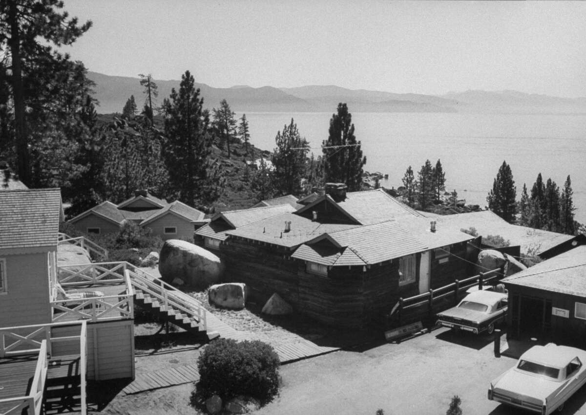 Cal-Neva gambling lodge, which belongs to singer Frank Sinatra, overlooking Lake Tahoe. (Photo by Don Cravens/The LIFE Images Collection/Getty Images)