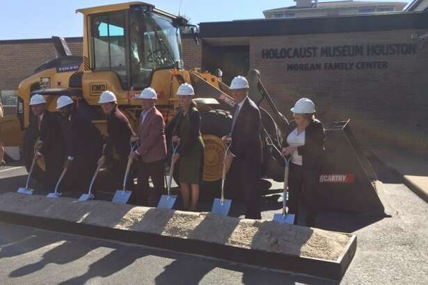 Holocaust Museum Houston broke ground Wednesday on a $49.4 million expansion to the museum.