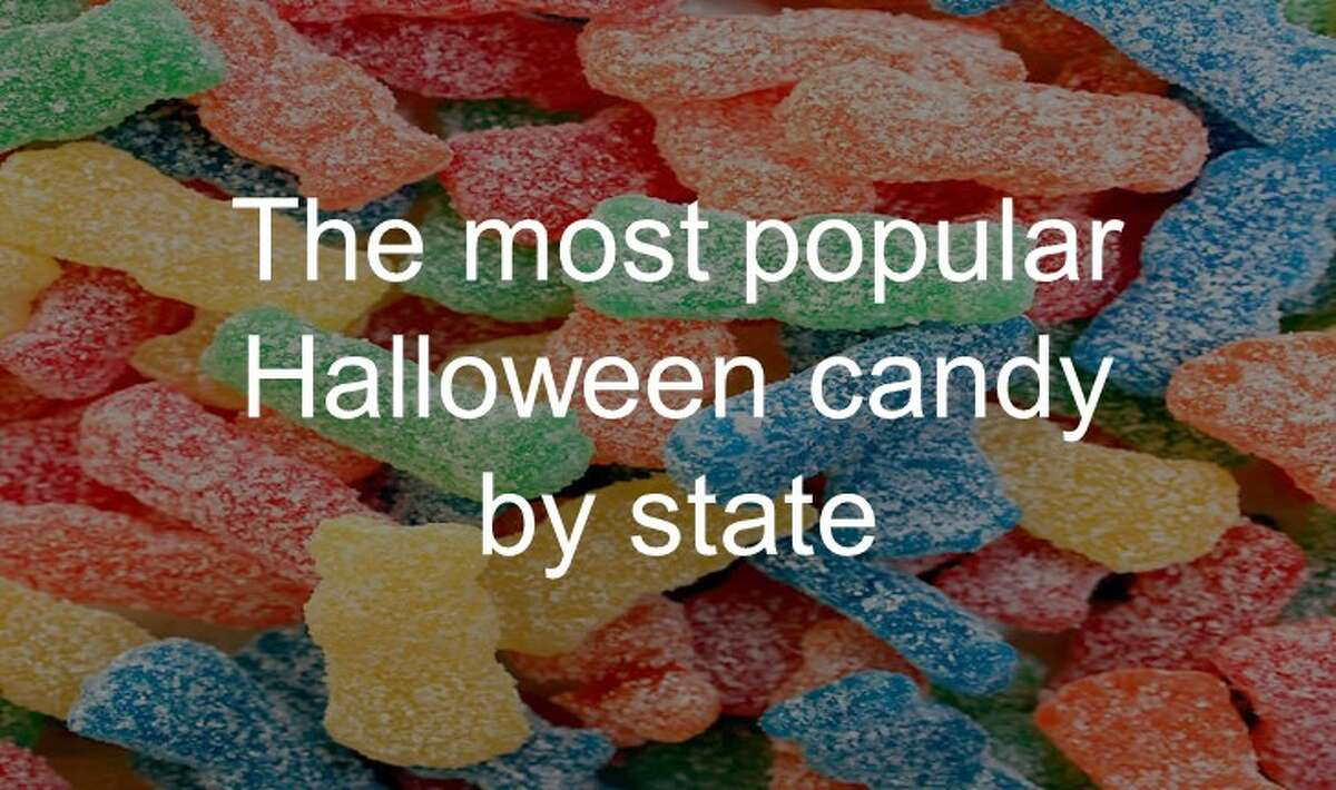 See which Halloween candy is the most popular by state up ahead.
