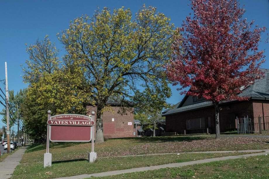 Exterior of Yates Village Friday Oct. 20, 2017 in Schenectady, N.Y.  (Skip Dickstein/Times Union) Photo: SKIP DICKSTEIN, Albany Times Union / 20041902A