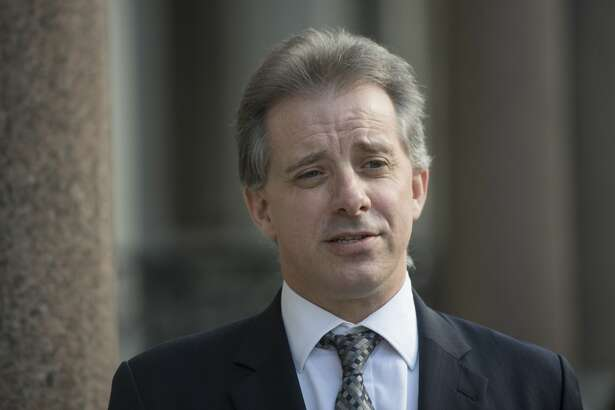 FILE — Christopher Steele, the former MI6 agent who set-up Orbis Business Intelligence and compiled a dossier on Donald Trump, in London where he has spoken to the media for the first time. (Photo by Victoria Jones/PA Images via Getty Images)