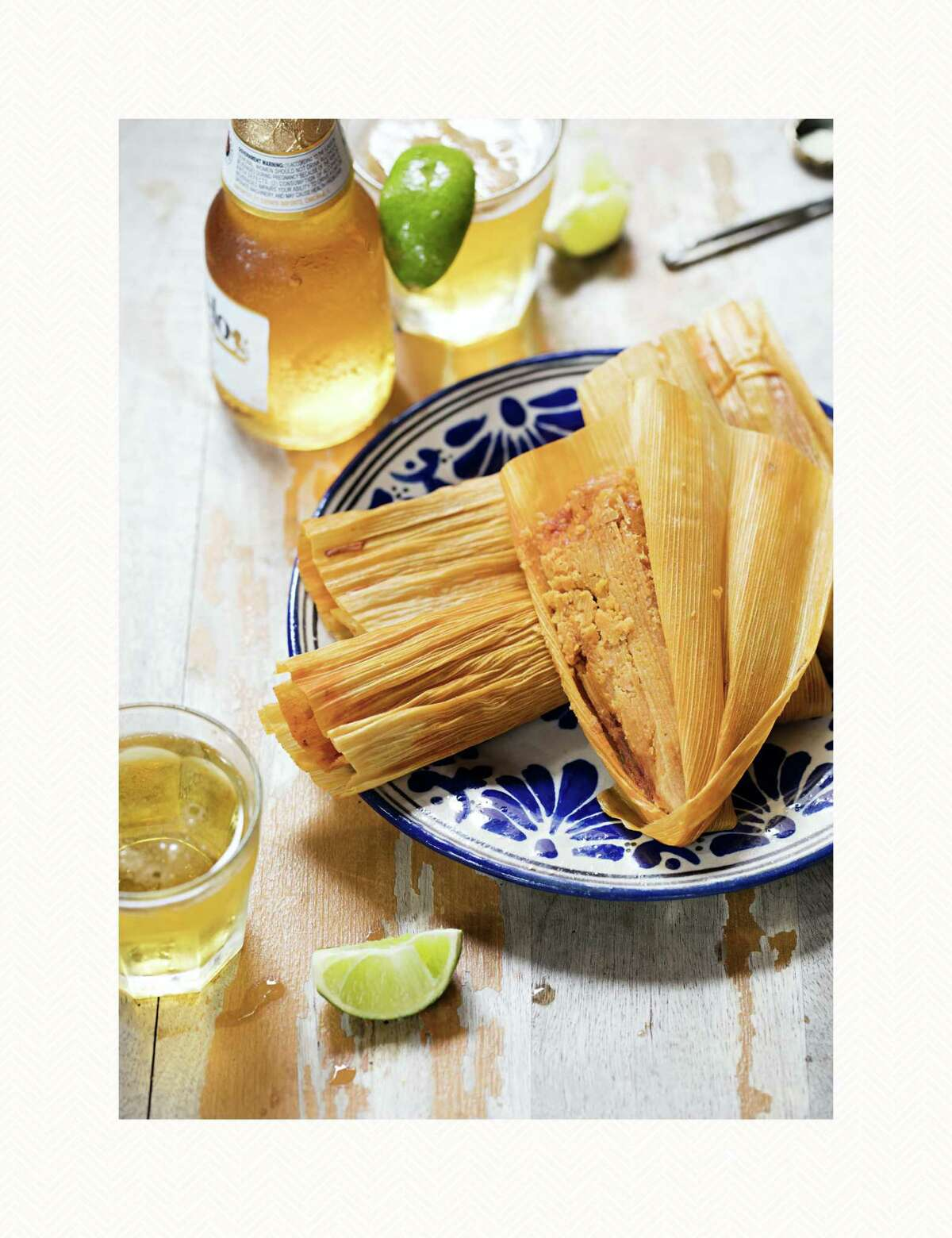 """Chicken Tamales from Houston chef Sylvia Casares is a recipe included in """"America the Great Cookbook"""" edited by Joe Yonan (Weldon Owen, $40)."""