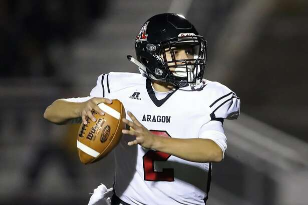 Quarterback Gabe Campos is the driving force behind coach Steve Sell's offense, which has Aragon-San Mateo undefeated through seven games and ranked 20th in The Chronicle's top 25 this week.