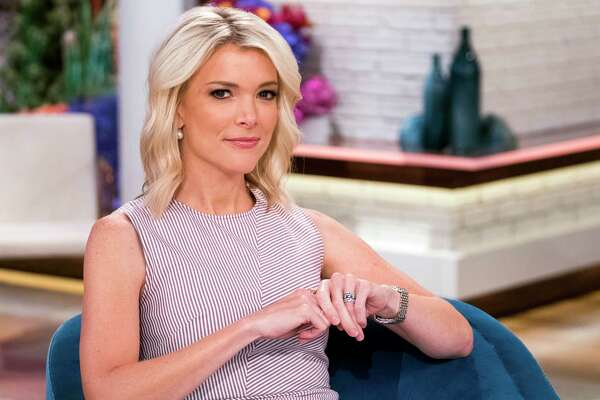 "FILE - Megyn Kelly poses on the set of her new show, ""Megyn Kelly Today"" at NBC Studios on Thursday, Sept, 21, 2017, in New York. Kelly says she complained to her bosses about Bill O'Reilly's behavior after she had accused former Fox chief Roger Ailes of sexual harassment, and that the abuse and shaming of women has to stop. Kelly, now with her own show on NBC, spoke Monday, Oct. 24, 2017, after it was revealed in The New York Times that Fox paid a $32 million settlement to former Fox analyst Lis Wiehl shortly before his contract was renewed. O'Reilly was fired in April. (Photo by Charles Sykes/Invision/AP, File)"
