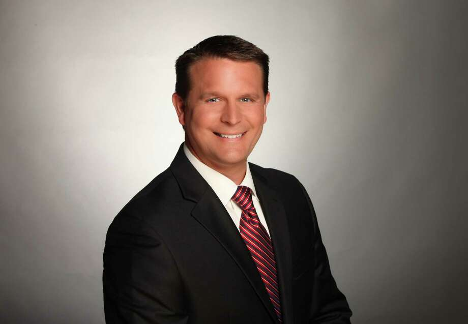The very capable Tim Gerber of KSAT's weekend news filled in for Steve Spriester during the chief anchorman's absence on Monday and Tuesday. Photo: Courtesy Of KSAT /