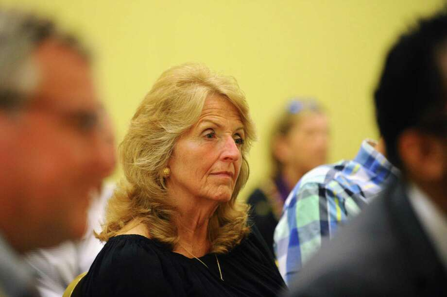 Town Clerk Donna Loglisci, pictured above in July, said some absentee ballots mailed to voters who requested them for the Nov. 7 municipal election contained an error and had to be reprinted.  . Photo: Hearst Connecticut Media File Photo / Stamford Advocate