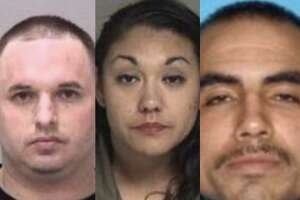 Luis McLaughlin, 34, of Newark, Robert Bettencourt, 30, of Fremont, and Leticia Hermosillo, 31, of Fremont, were arrested on murder charges Sunday night in Hayward, police said.