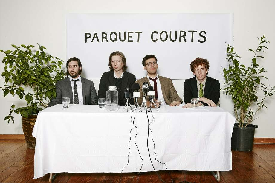 Rock band Parquet Courts is among the eclectic mix featured on the Noise Pop lineup. Photo: Ben Rayner