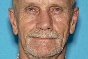 This undated driver's license photo provided by the Lake County Sheriff's Office shows Alan Ashmore, 61, of Clearlake Oaks, Calif. Deadly shootings Monday, Oct. 23, 2017, in a small lakeside Northern California community include at least one police officer, authorities said.
