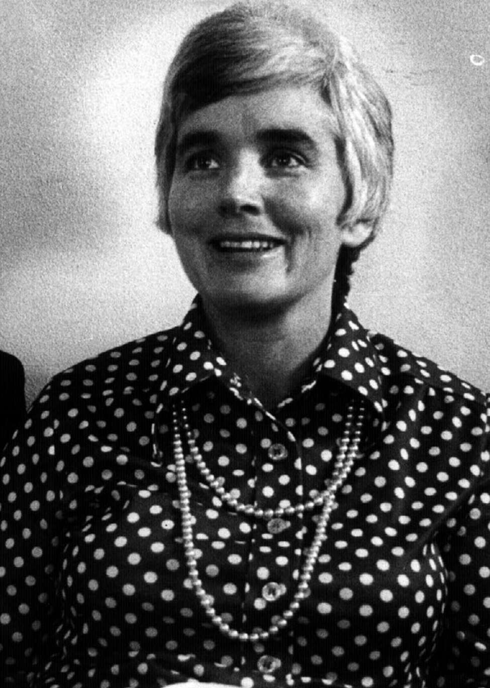 Theresa Cooke in the early 1970s. (Archive photo.)