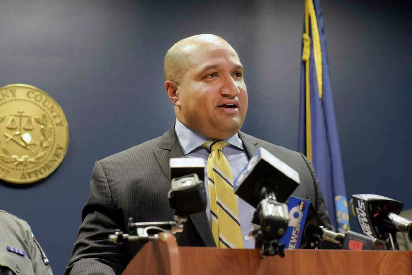 FILE - Albany County District Attorney David Soares
