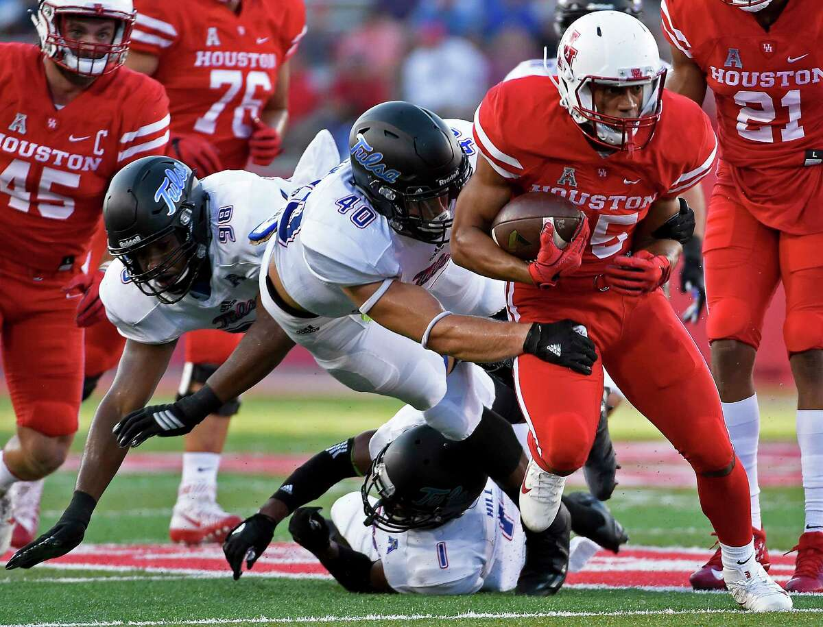 Dillon Birden's elbow injury means UH's other running backs will have to shoulder more of the rushing workload.