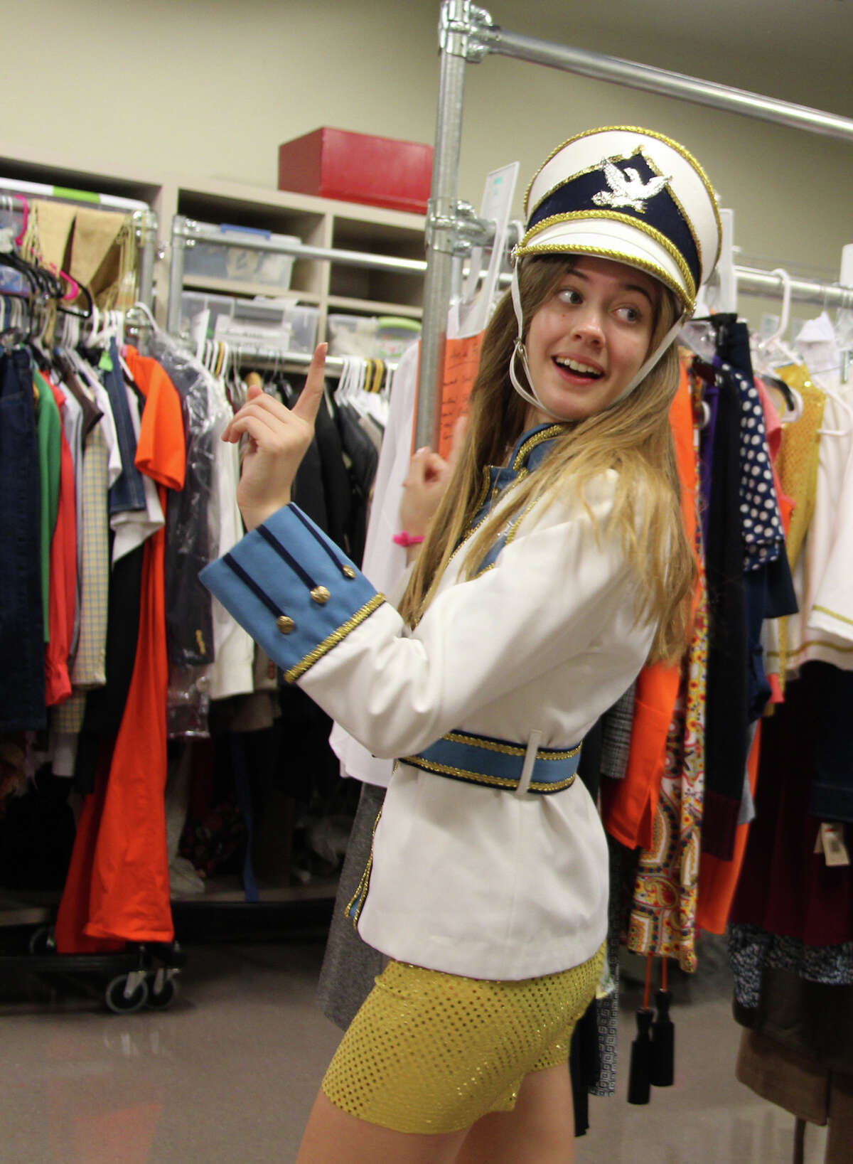 Senior Mallory Bechtel, who plays the lead role of Elle in The John Cooper School production of