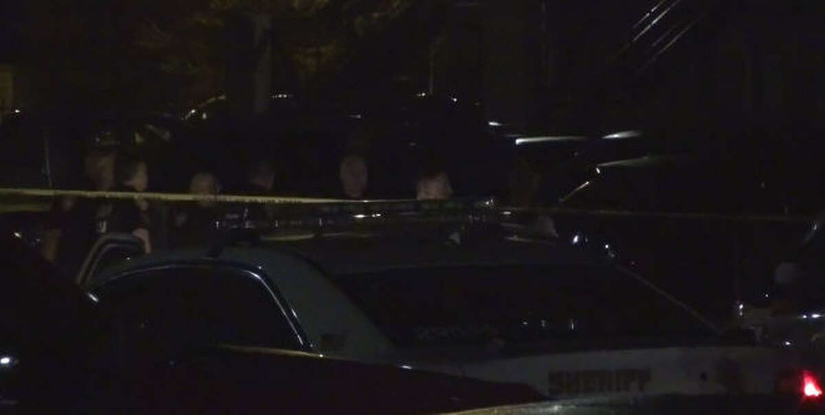 A man was shot to death while working on his pickup truck. A man was shot to death while working on his pickup truck.