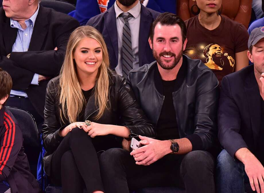 Astros pitcher Justin Verlander and model Kate Upton posted images from their wedding on social media on Dec. 11, 2017.Scroll through the gallery ahead to see why Verlander and Upton are #RelationshipGoals  Photo: James Devaney/GC Images