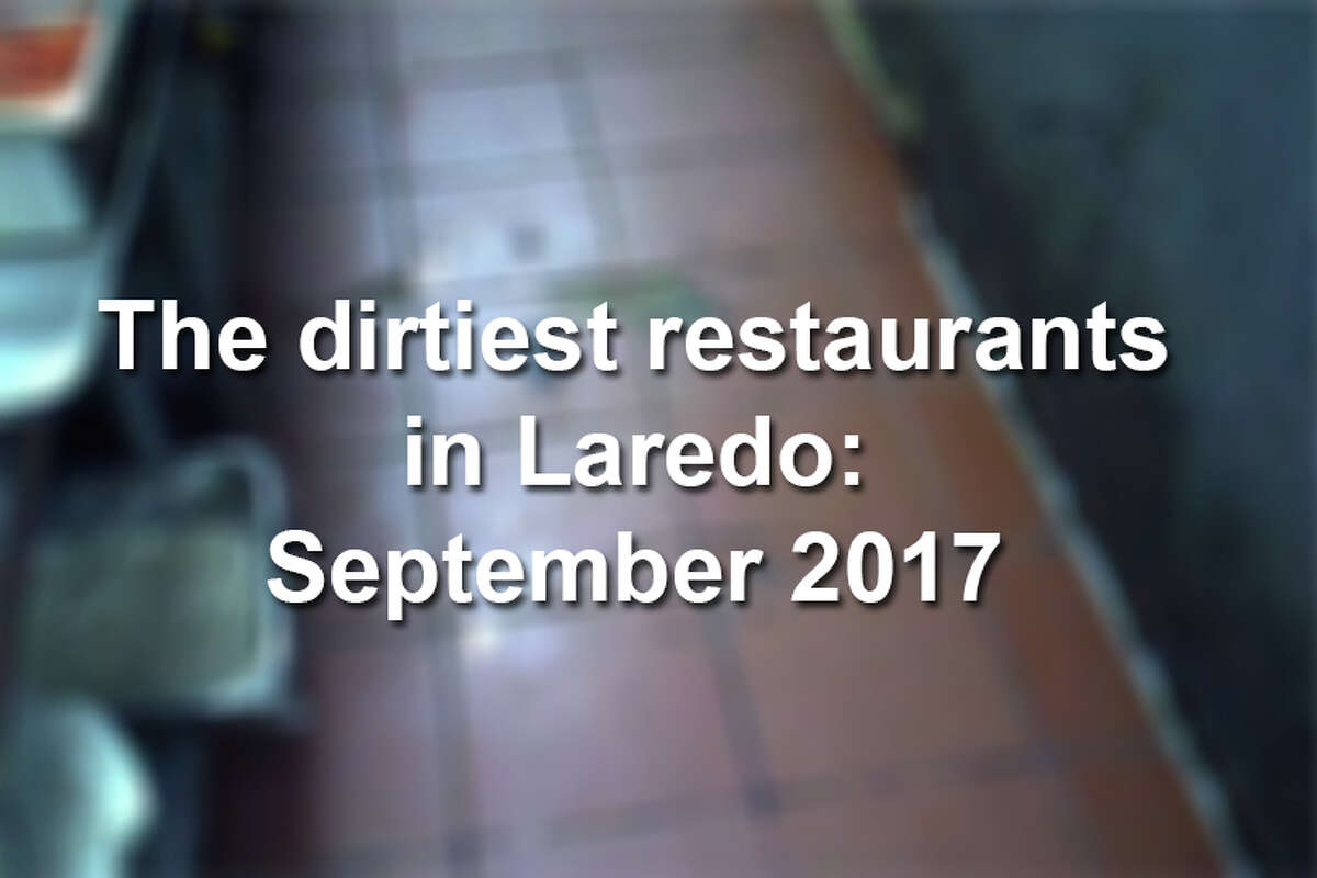 Click through this gallery to see the restaurants in Laredo that received the worst scores during the month of September 2017.