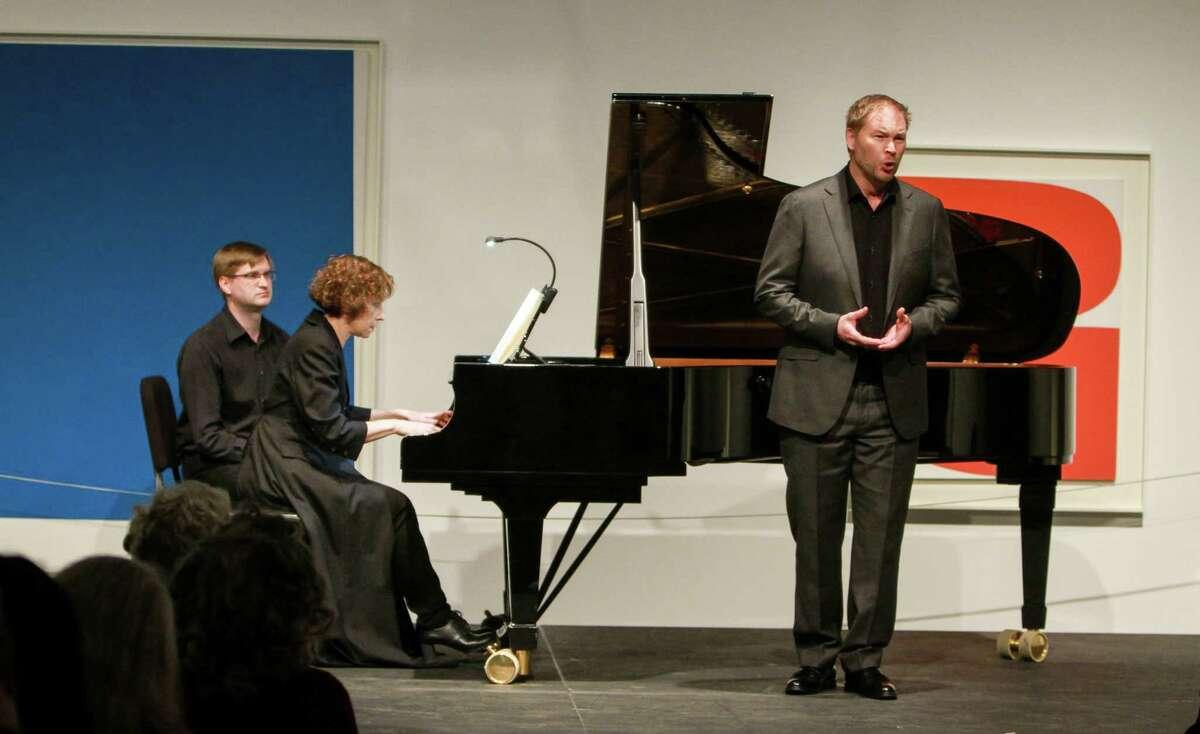 Sarah Rothenberg, piano, and Tyler Duncan, baritone, perform