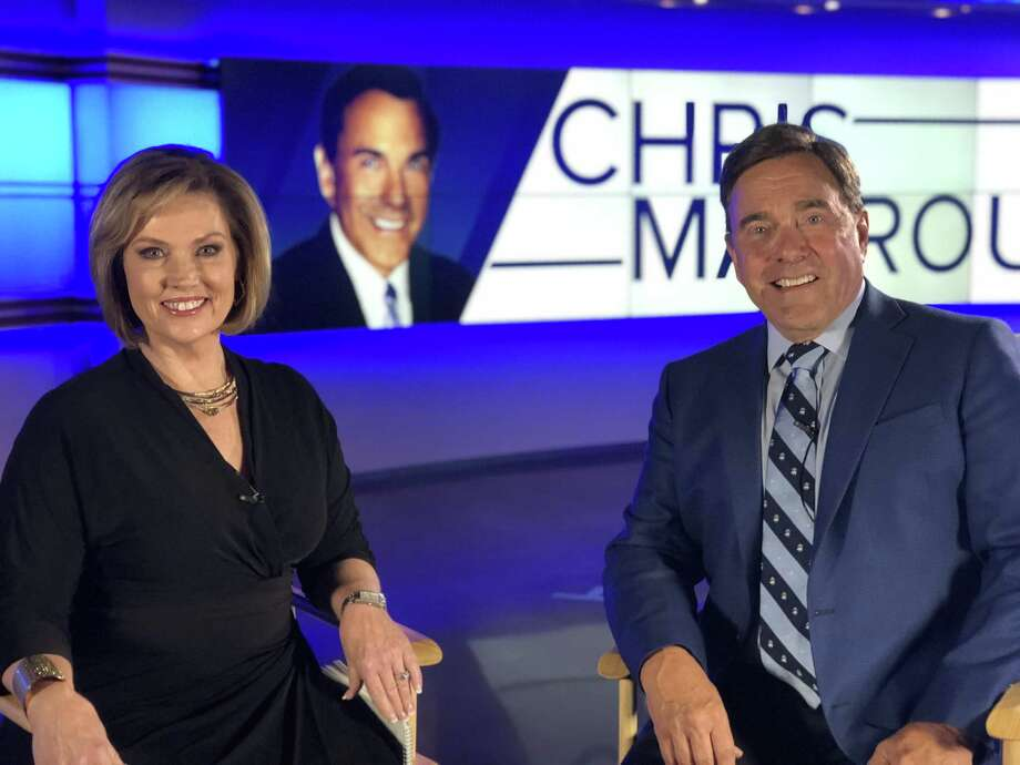 Legendary San Antonio anchor Chris Marrou made a big announcement about his future at the station in an interview conducted by anchorwoman Deborah Knapp on Friday night. Photo: KENS-TV