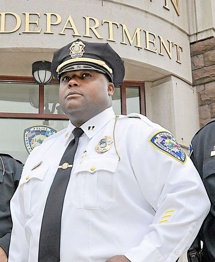 Middletown Police Capt. Gary Wallace Photo: File Photo / TheMiddletownPress