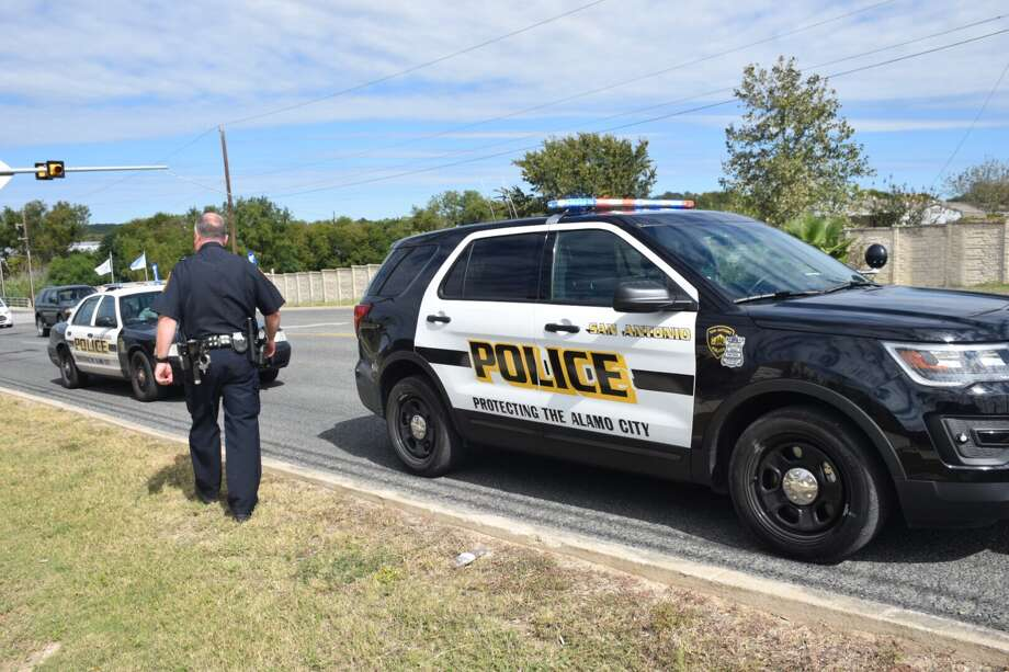 Police are investigating a road rage shooting that took place in front of the IDEA Judson campus on the Northeast Side. Photo: Caleb Downs / San Antonio Express-News