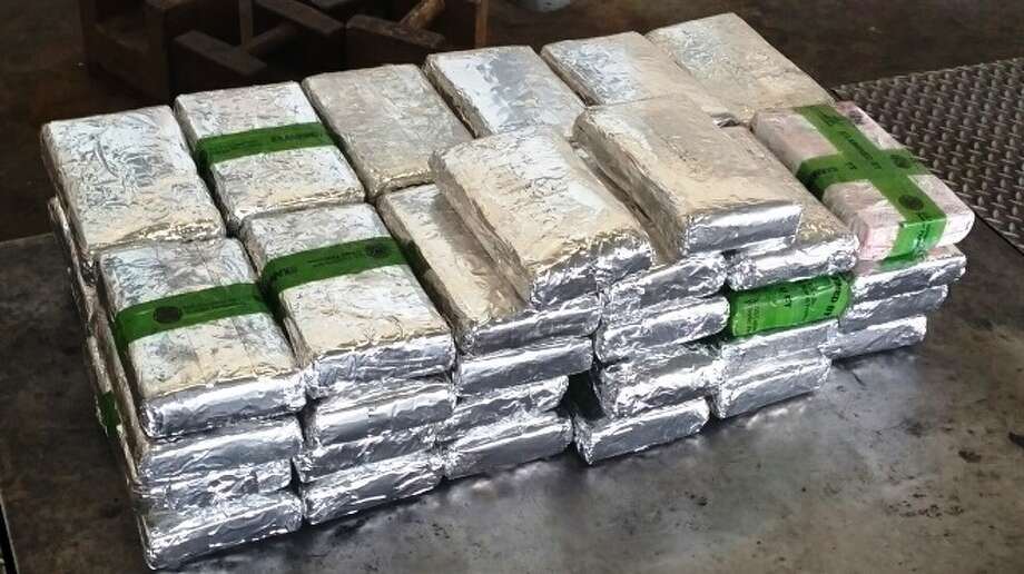 These drugs were found in a tractor trailer at the Pharr International Bridge's cargo facility. Photo: Contributed Photo