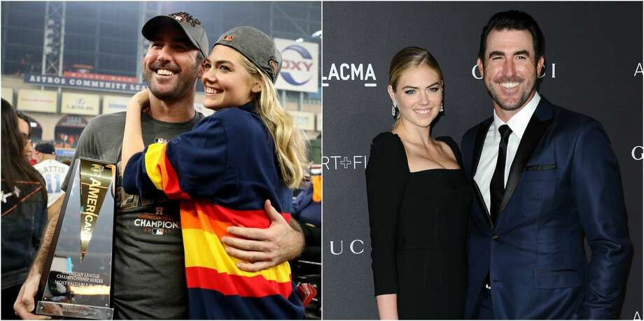Not only is Astros pitcher Justin Verlander on top of the sports world, his relationship with model Kate Upton has made him the envy of couples all around America. Photo: Getty