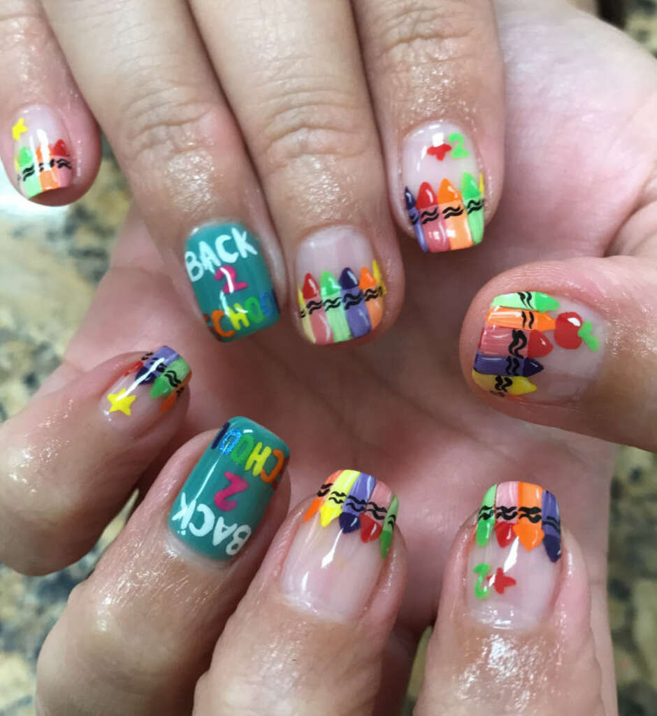 This texas womans nail art will make you want to drive to corpus over the past eight years nichole herrera of artistic nails has been doing nails in prinsesfo Choice Image