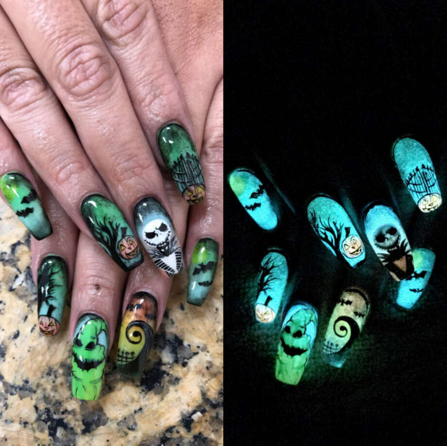 This texas womans nail art will make you want to drive to corpus over the past eight years nichole herrera of artistic nails has been doing nails in prinsesfo Gallery