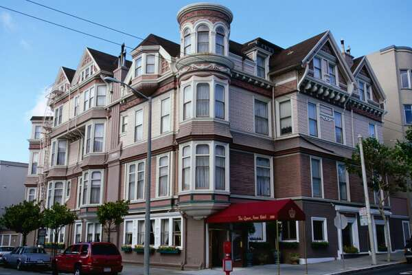 The Queen Anne Hotel in San Francisco, California.