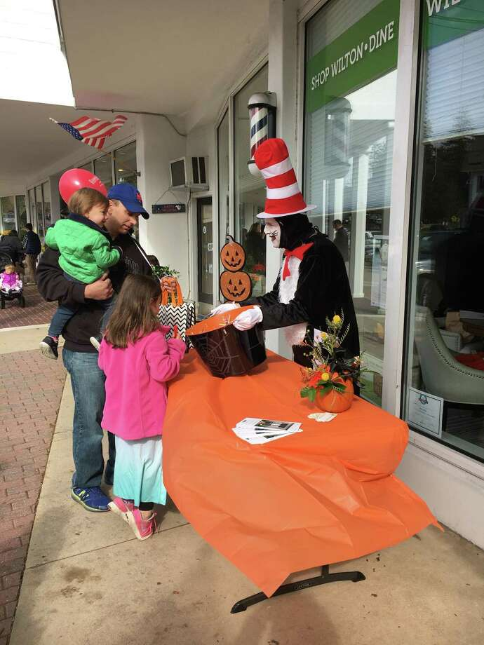 Participants from a prior HalloWeekend held by the Wilton Chamber of Commerce. Photo: Contributed Photo /