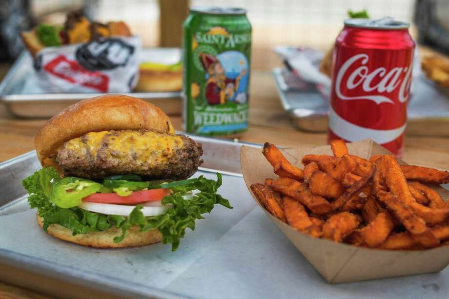 Balls Out BurgerLocation: 1603 N. DurhamAll Saint Arnold beers will be priced at $1 off during any World Series game. Photo: Courtesy
