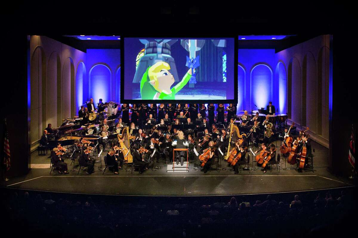 Traveling orchestra and choir returns with an updated symphony concert based on Koji Kondo's music for Nintendo's enduring video game franchise. The music -- including themes from the new Switch game