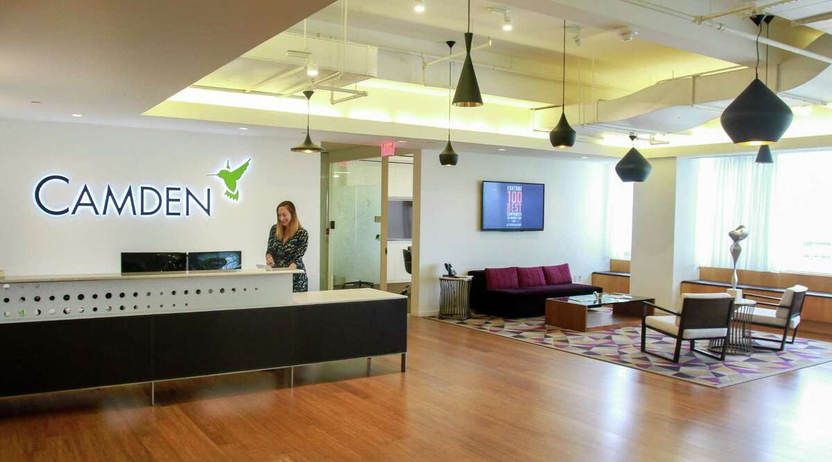 Camden, a multifamily operator with 500 employees in Houston, is headquarteredat 11 Greenway Plaza.