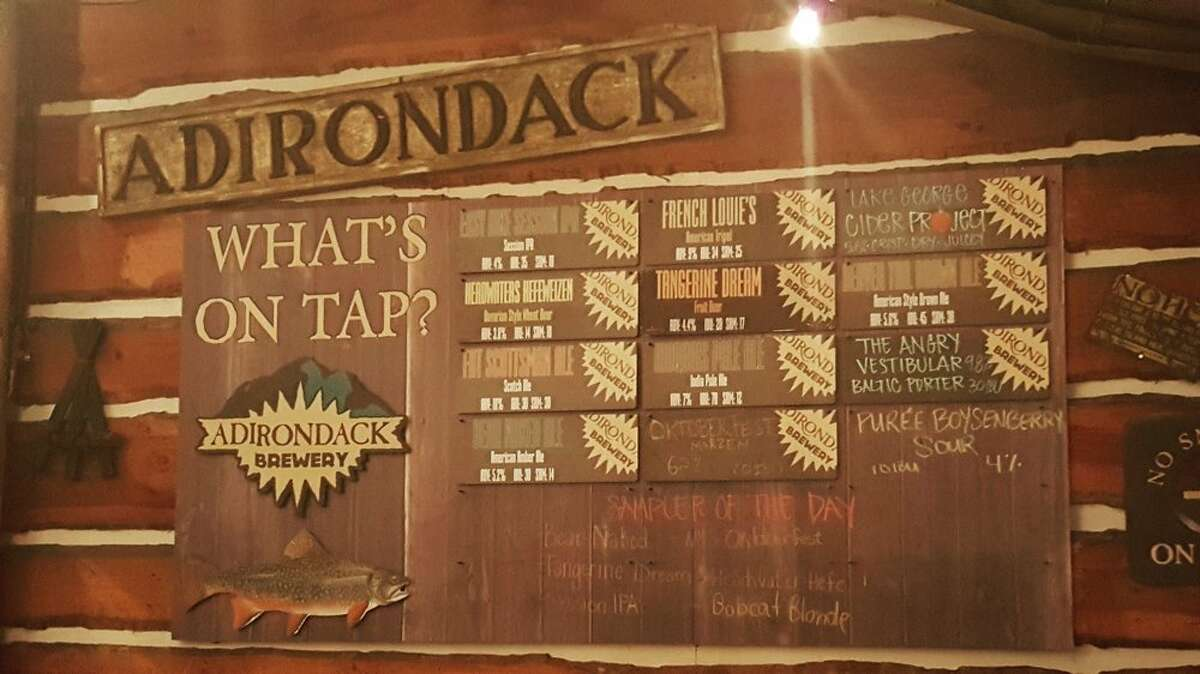 Adirondack Brewery Opened: 1999Location: Lake GeorgeBeers include: Bear Naked Ale, Bobcat Pilsner, Fat Scotsman