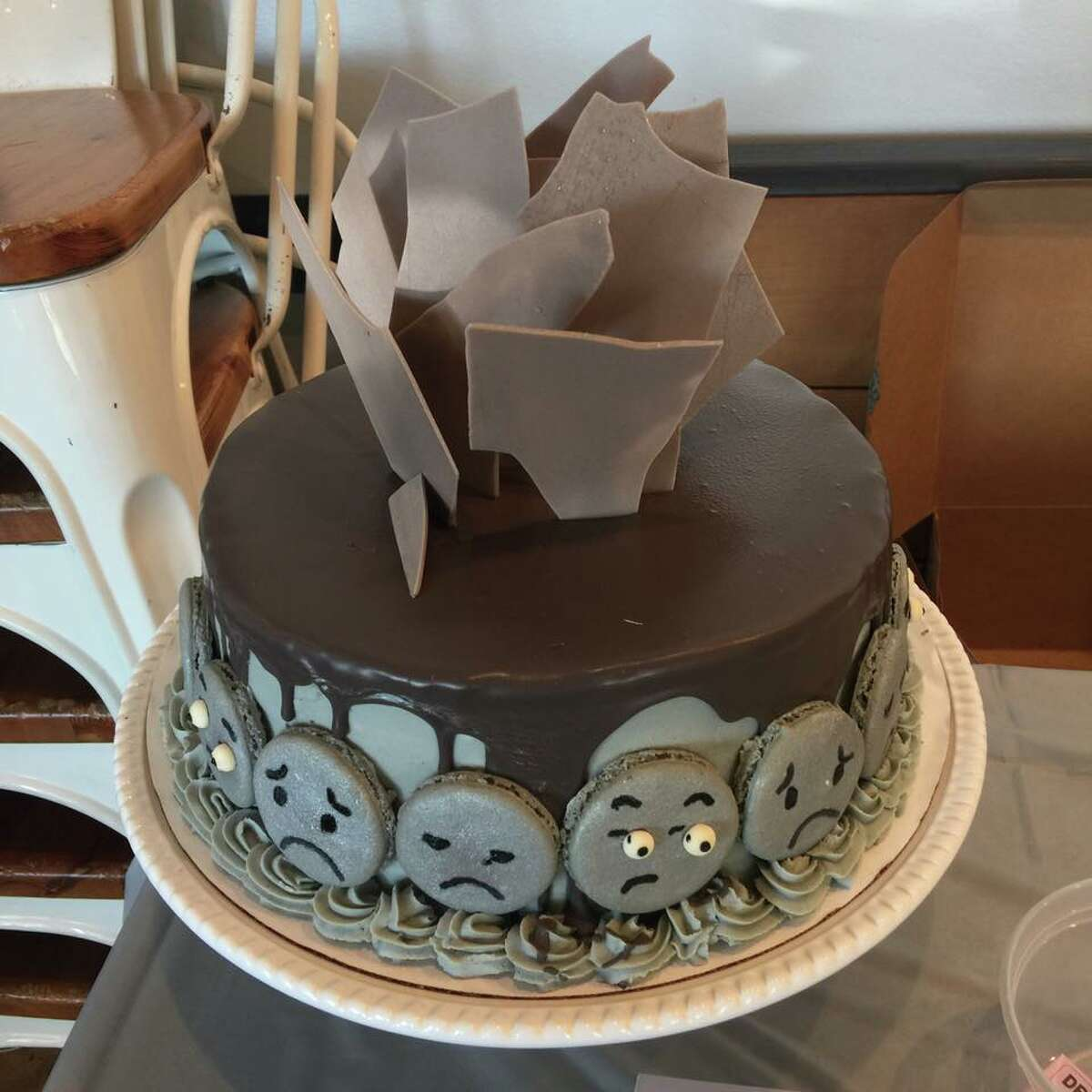 The annual Depressed Cake Shop, a fundraiser to benefit the Montrose Center and the Greater Houston chapter of the National Alliance on Mental Illness, will be held Sunday, Oct. 29 at Underbelly. Shown: Examples of depressed cakes.