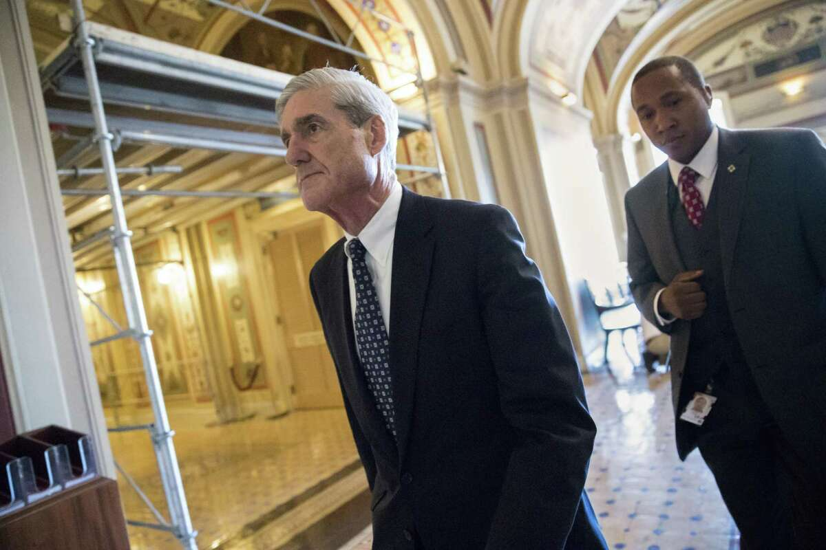 Special counsel Robert Mueller departs June 21 after a closed-door meeting with members of the Senate Judiciary Committee about Russian meddling in the election and possible connection to the Trump campaign, on Capitol Hill in Washington. New disclosures reveal that much of the cyber threat to the election occurred with the use of social media to disseminate fake news.