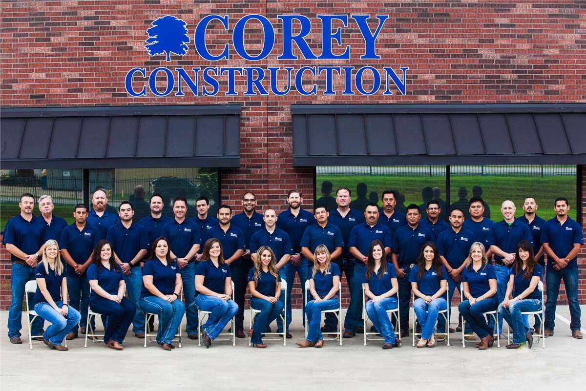 Corey Construction is one of 30 newcomers to the Chronicle's Top Workplaces list in 2017. The roofing company has about 150 employees.