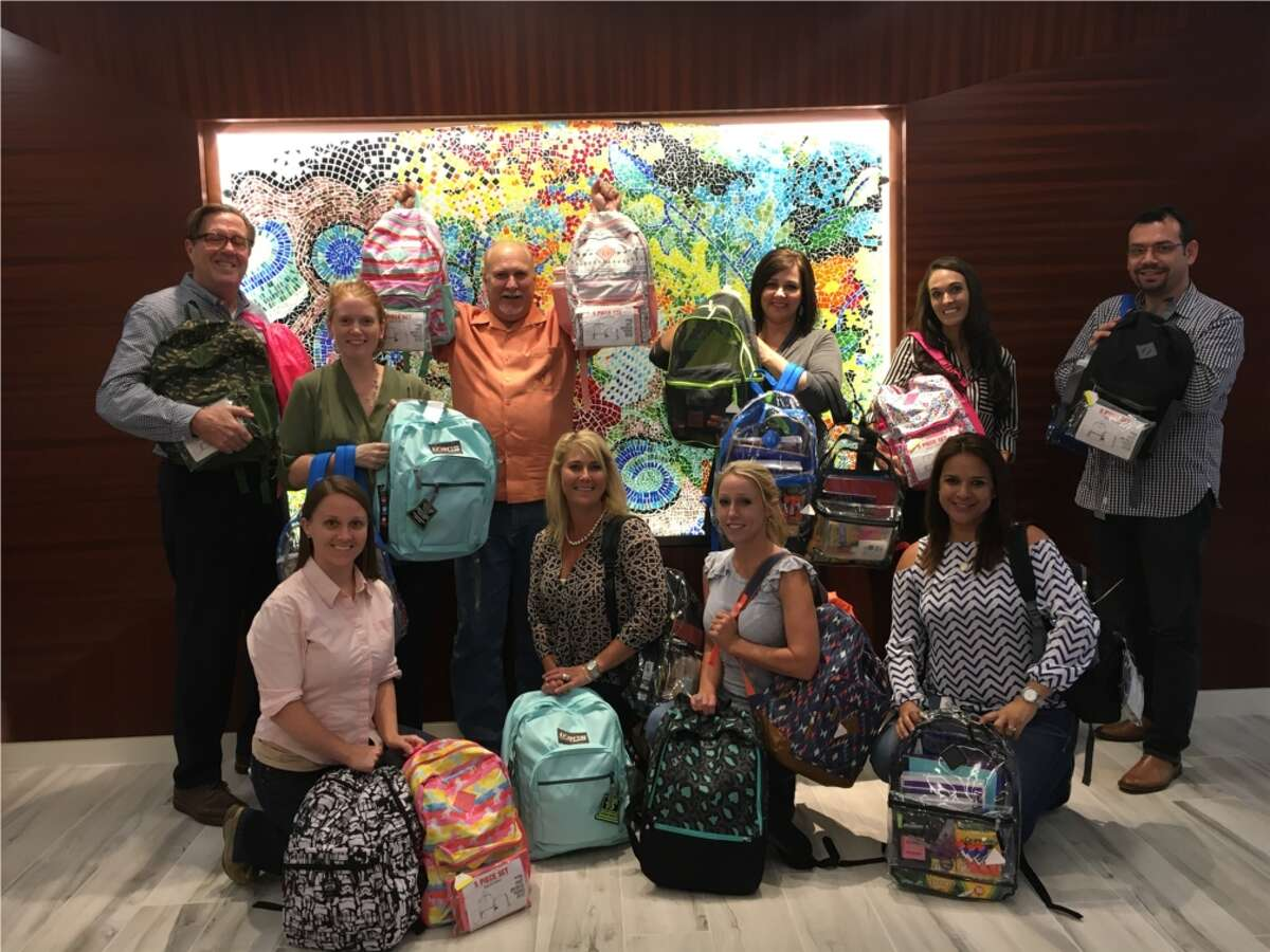 Benchmark employees collected enough supplies to complete 20 backbacks for the 2017 school supply drive with community partner, Interfaith of The Woodlands. The global hospitality company has earned a spot on the Chronicle's Top Workplaces list seven times.
