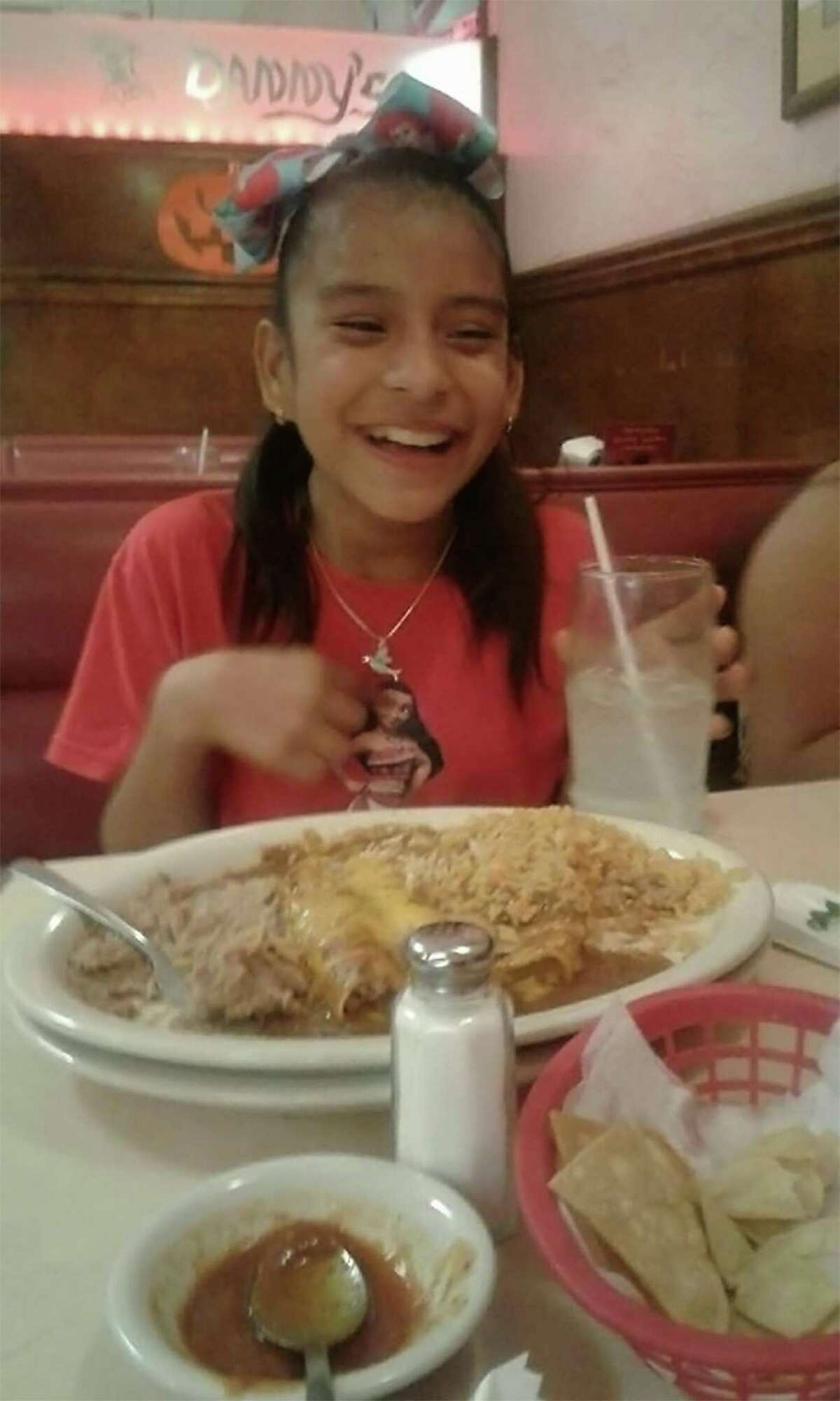 Rosemarie Hernandez, 10, who underwent gall bladder surgery in a Corpus Christi hospital, does not have legal immigrant status and may be sent to a detention facility after being released from the hospital. She faces deportation with her mother, Felipa Delacruz, who also lacks legal immigrant status. Hernandez also has been diagnosed with cerebral palsy.