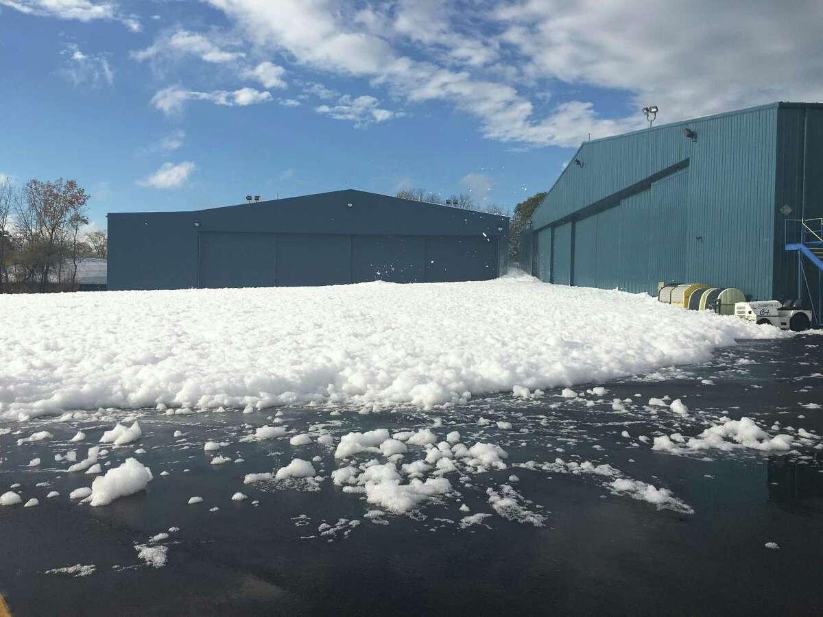 Обои snow, олбани, ny, new york, ночь, winter, Albany. Города foto 18