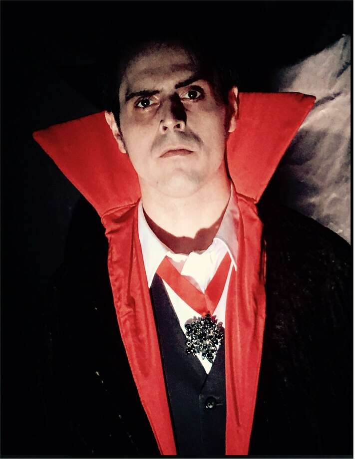 Alex Papacoda is Dracula in the Connecticut Cabaret Theater show, just in time for Halloween. Photo: Contributed Photo / Not For Resale