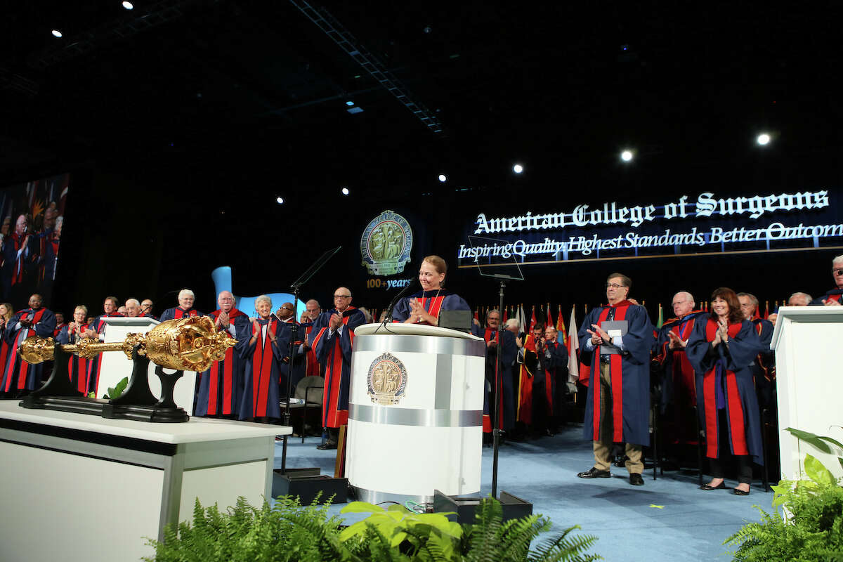 Dr. Barbara Bass, Houston Methodist Hospital's chair of surgery, is made president of the American College of Surgeons at annual meeting in San Diego Sunday.