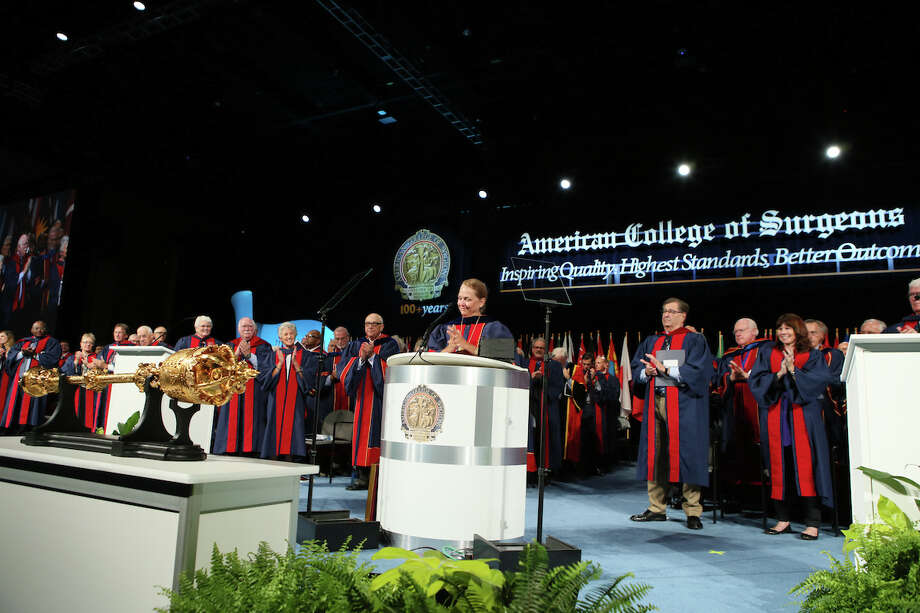 Dr. Barbara Bass, Houston Methodist Hospital's chair of surgery, is made president of the American College of Surgeons at annual meeting in San Diego Sunday. Photo: Courtesy American College Of Surgeons