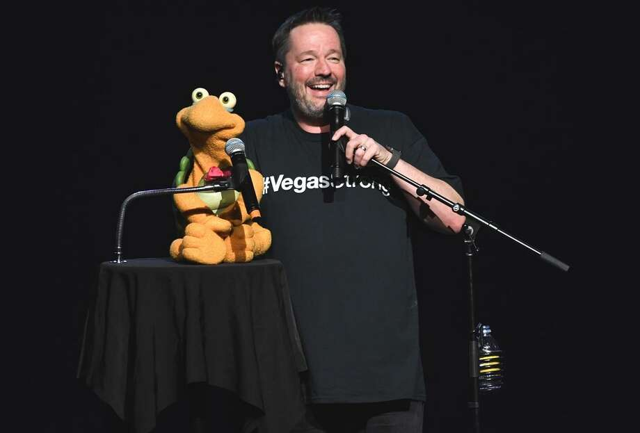 Ventriloquist, impressionist, comedian and singer Terry Fator performs with Winston the Turtle in the Grand Theater at Foxwoods during his show on Oct. 20. He was the winner of season two of Americas Got Talent, and received the million dollar prize. The following year, he was signed on as the headliner at The Mirage hotel and casino in Las Vegas with a five-year, $100 million contract. To learn more about this very entertaining man, visit www.terryfator.com Photo: Photo By John Atashian / Not For Resale